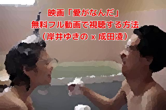 映画「愛がなんだ」 無料フル動画で視聴する方法 (岸井ゆきの x 成田凌)